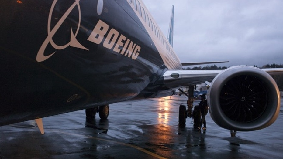 File photo - A Boeing 737 MAX sits outside the hangar during a media tour of the Boeing 737 MAX at the Boeing plant in Renton, Washington Dec. 8, 2015. (REUTERS/Matt Mills McKnight)