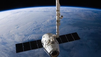 The SpaceX Dragon cargo capsule approaches the International Space Station prior to installation in this NASA picture taken April 10, 2016. REUTERS/NASA via social media/Handout via Reuters   THIS IMAGE HAS BEEN SUPPLIED BY A THIRD PARTY. IT IS DISTRIBUTED, EXACTLY AS RECEIVED BY REUTERS, AS A SERVICE TO CLIENTS. FOR EDITORIAL USE ONLY. NOT FOR SALE FOR MARKETING OR ADVERTISING CAMPAIGNS - TM3EC4A0R6P01