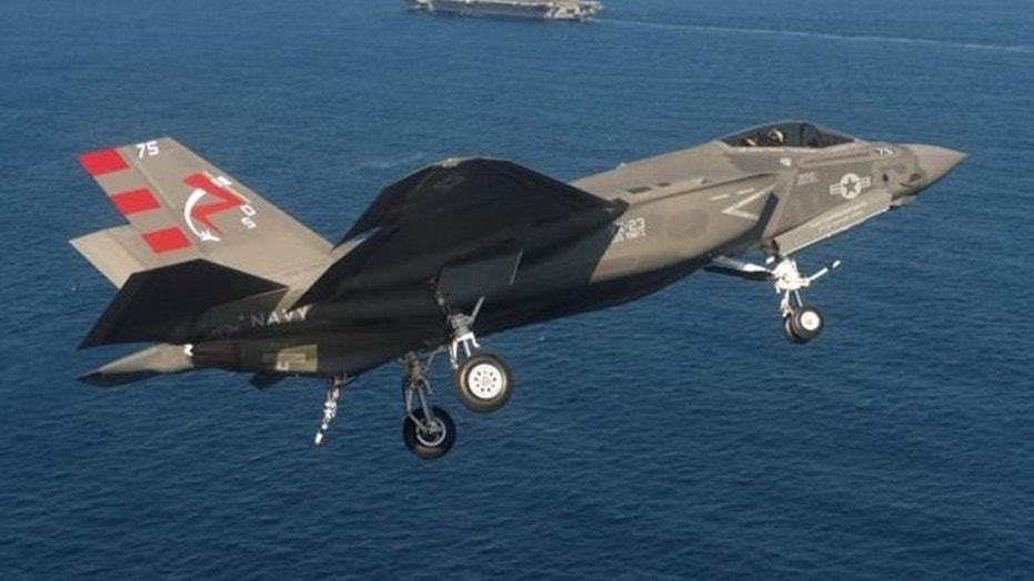 F-35 Series Part II: Multi-Domain War - F-35s test attack missions with surface ships and ground weapons. (Credit: Lockheed Martin F-35)