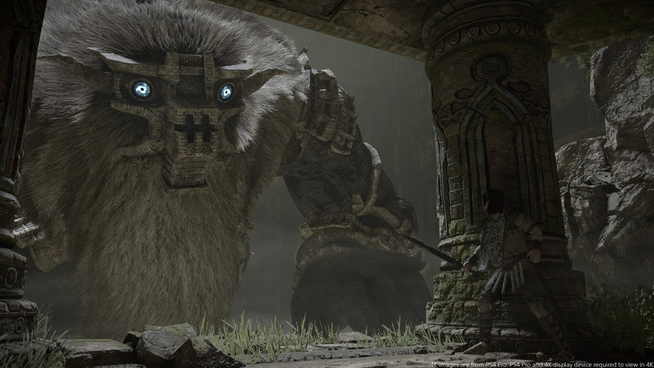 "Screenshot from ""Shadow of the Colossus"" (PlayStation/Bluepoint Games)"