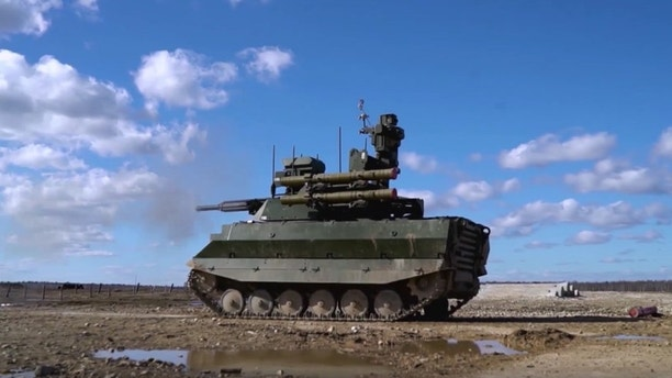 1525795151820 - Russia set to showcase new robo-tank at Moscow Victory Day parade