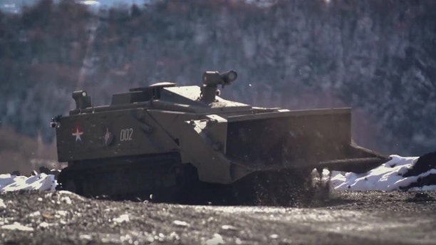 1525795798827 - Russia set to showcase new robo-tank at Moscow Victory Day parade
