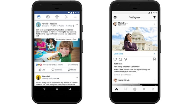 Facebook launches searchable archive of US political ads