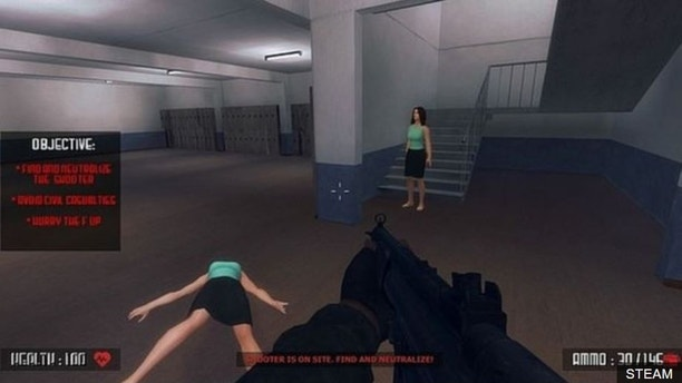 capture active shooter 'active shooter' video game pulled after huge backlash 'Active Shooter' video game pulled after huge backlash 1527648013902