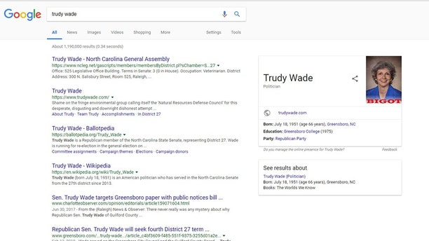 Trudy Wade before