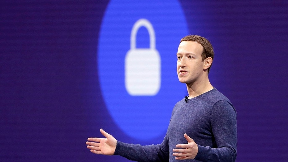 FILE- In this May 1, 2018, file photo, Facebook CEO Mark Zuckerberg makes the keynote speech at F8, Facebook's developer conference in San Jose, Calif. (AP Photo/Marcio Jose Sanchez, File)  (Copyright 2018 The Associated Press. All rights reserved.)