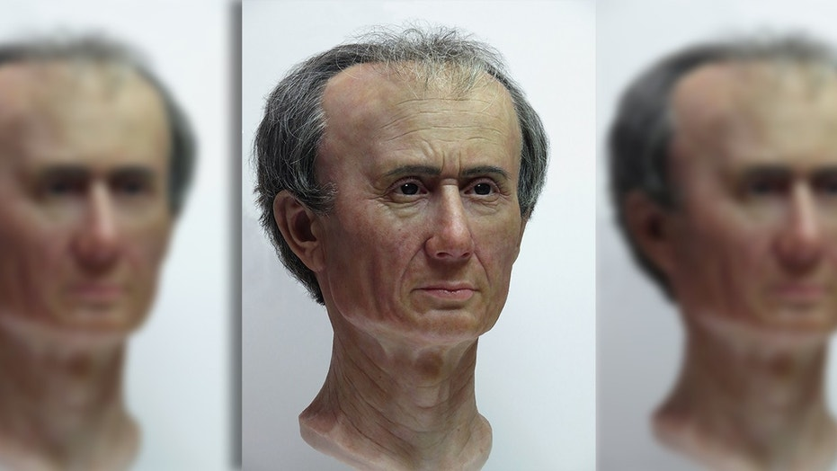 """A museum in the Netherlands has unveiled a 3D reconstruction of Julius Caesar that includes, according to the the creator, """"a crazy bulge on his head."""""""