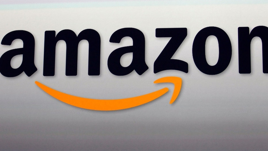 FILE - This Sept. 6, 2012, file photo, shows the Amazon logo in Santa Monica, Calif. (AP Photo/Reed Saxon, File)  (Copyright 2016 The Associated Press. All rights reserved.