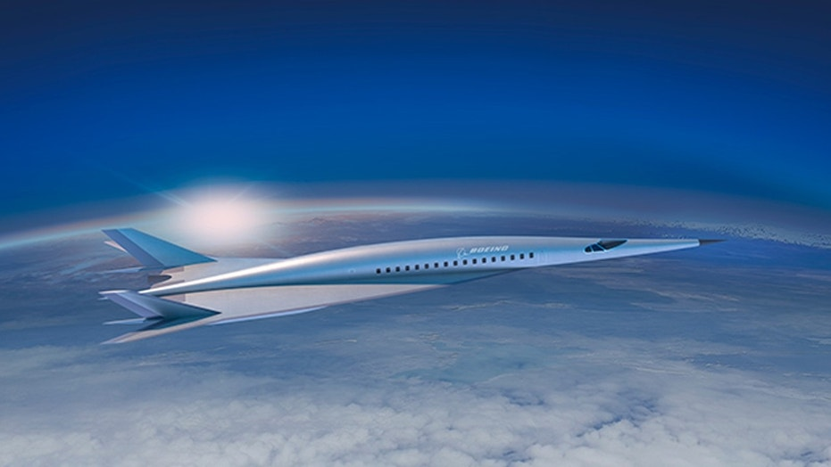 Boeing debuts first passenger-carrying hypersonic vehicle concept (Credit: Boeing)