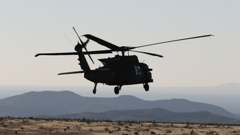 UH-60 Blackhawk helicopter crews from 3rd Battalion, 501st Aviation Regiment, Combat Aviation Brigade, 1st Armored Division completed aerial gunnery at Fort Bliss, Texas, December 12, 2017, maintaining their combat readiness and M240 machine gun skills.  U.S. Army photos by Capt. Tyson Friar, 1st Armored Division Combat Aviation Brigade Public Affairs