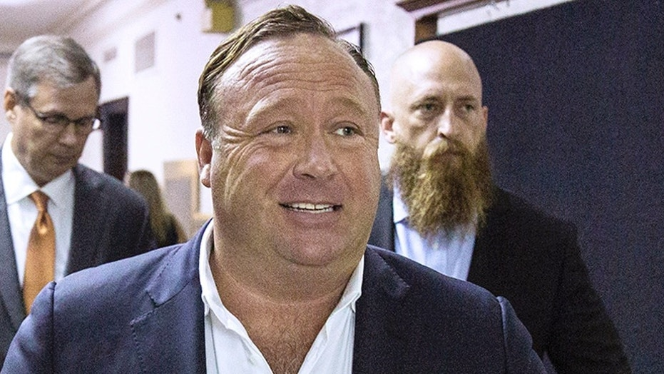 Facebook, YouTube, and Apple have banned Alex Jones and his conspiracy theory site Infowars from their platforms over hate speech. (Tamir Kalifa/Austin American-Statesman via AP, File)