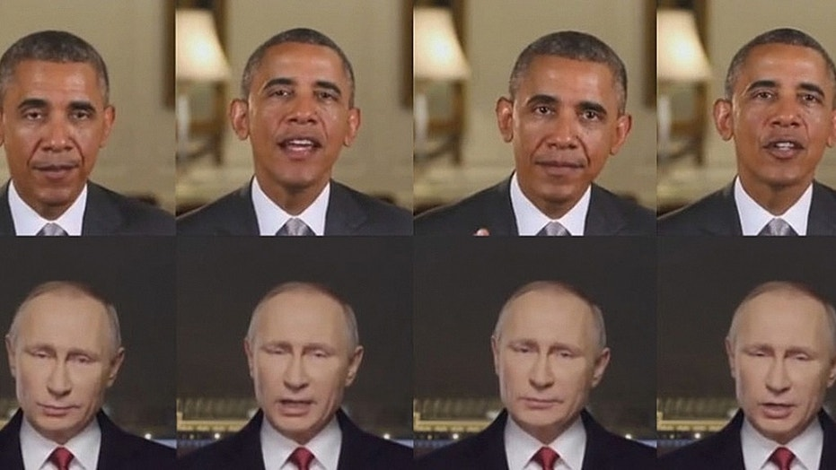 A new computer program can manipulate a video so that its subject mirrors the movements of someone else in another video. In this case, images of Russian President Vladimir Putin are altered to match those of former President Barack Obama.