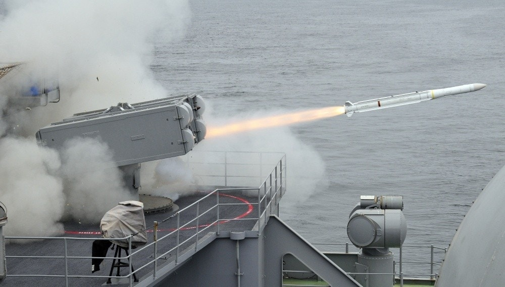 New Navy Ship-defense Missile Destroys Target with High Tech 'Active Seeker'