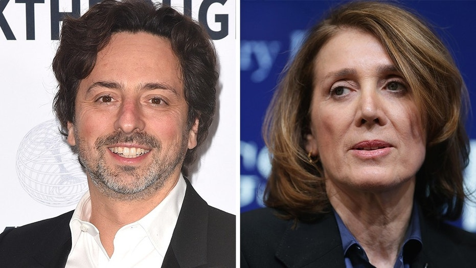 Google co-founder Sergey Brin and CFO Ruth Porat were both upset following Donald Trump's general election victory, newly released video shows.