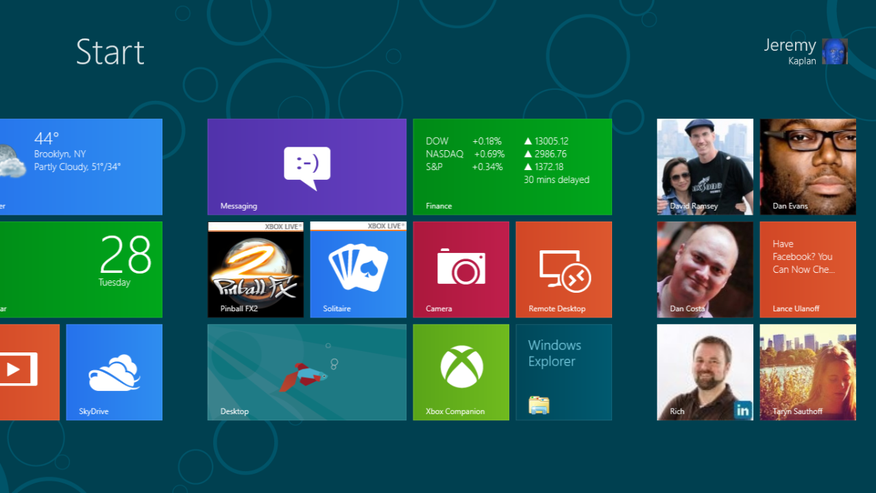 In Pictures&#x3a&#x3b; Microsoft releases Windows 8 Consumer Preview