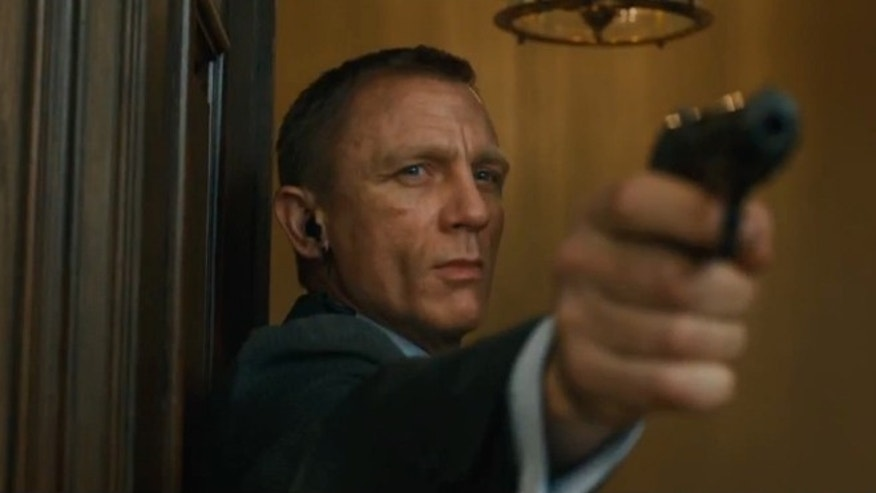 Bond and his trusty Walther PPK. No surprises with that one.