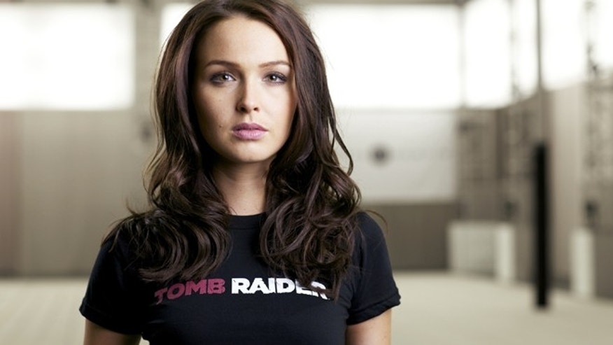 "Camilla Luddington, the new voice of ""Tomb Raider"" Lara Croft."