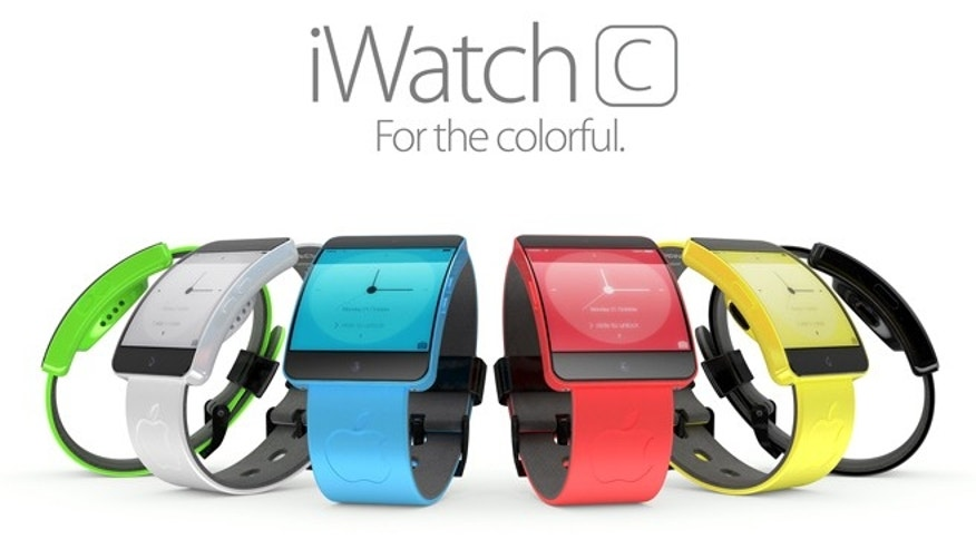"3D artist Martin Hajek's rendering of the unnanounced iWatch. For more visit <a target=""_blank"" href=""http://www.foxnews.com/tech/slideshow/2013/08/21/apple-new-iwatch/#slide=1"">www.MartinHajek.com</a>."
