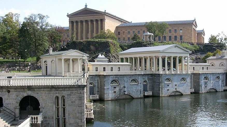 Philadelphia Museum of Art and Fairmount Water Works (Photo: Josh McIlvain)