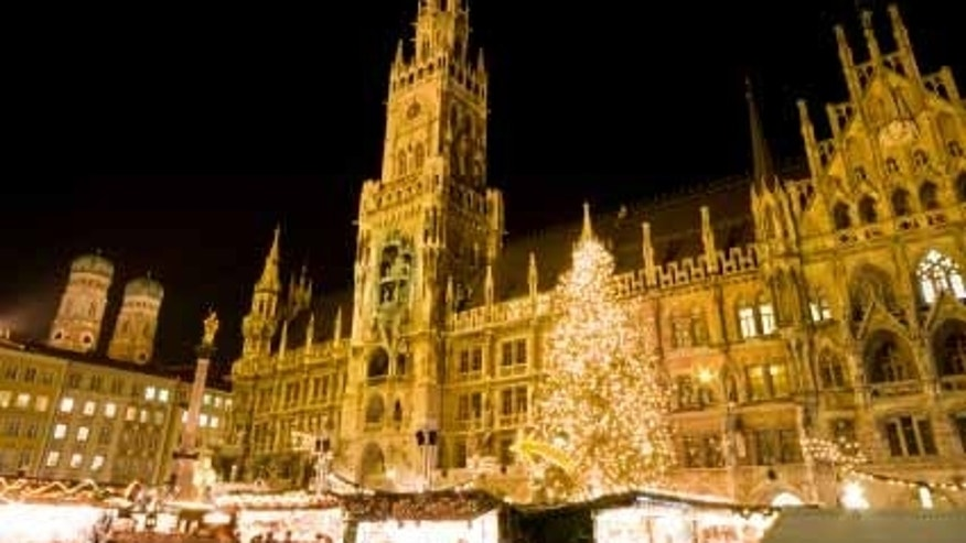 Munich Christmas market (Photo by: Evelyn Kanter)