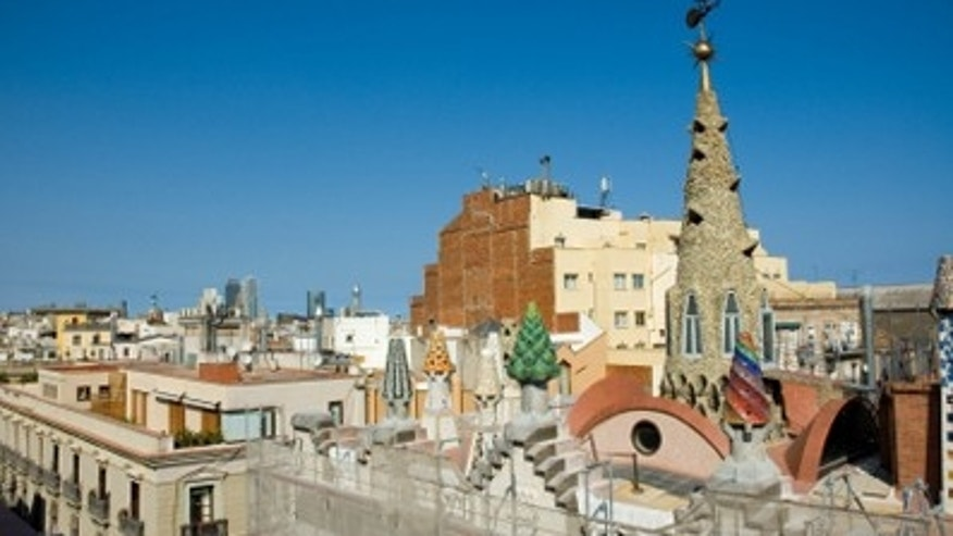 Rooftop of Palau Guell