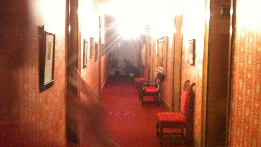 What's that entering Governor Lew Wallace Room #9 at the St. James Hotel?