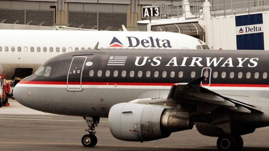 AIRLINES USAIR DELTA
