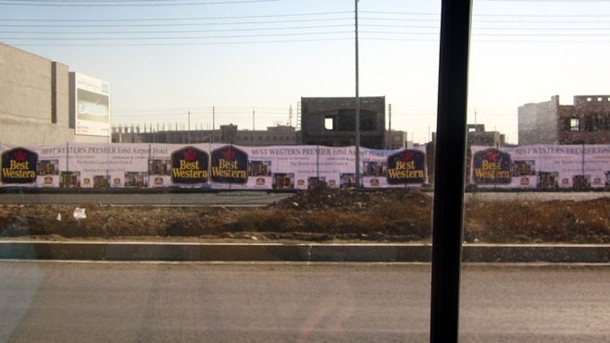 Future Site of the Best Western Erbil Airport Hotel in Iraq.