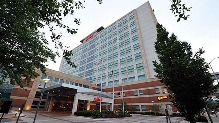 The Marriott in downtown Indianapolis is all booked up by the NFL.  You couldn't get a room there at any cost.