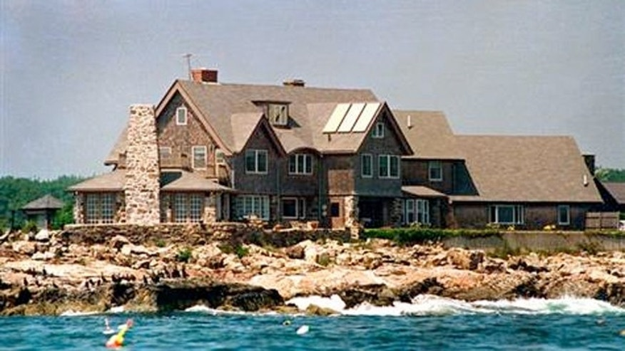 Built by H.W's grandfather in 1903, the sprawling Bush Compound is located on Walker's Point in the coastal town of Kennebunkport in Southern Maine