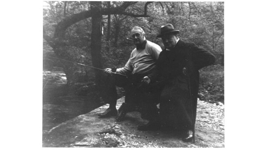 Franklin D. Roosevelt and Winston Churchill retreated to Trout Run during WWII.