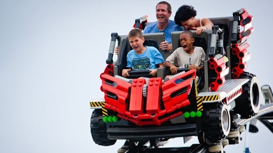 Go for a wild ride at LEGOLAND Florida.