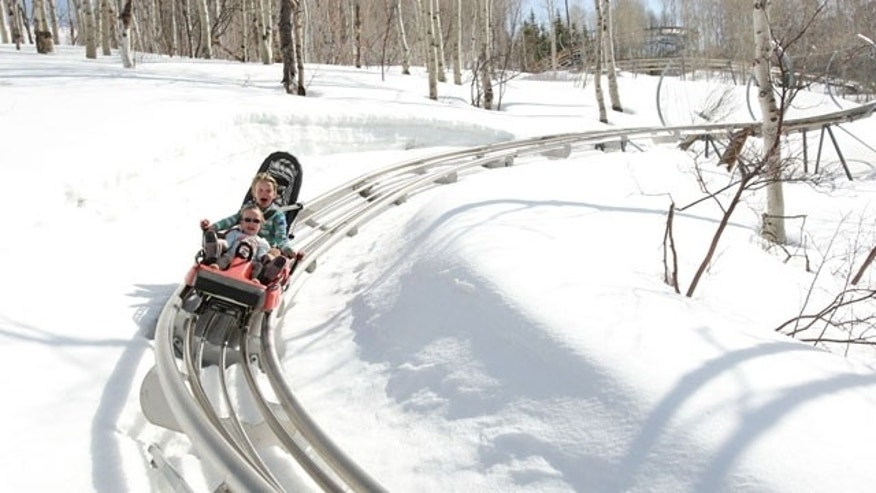 Ride the Alpine coaster at Park City Mountain Resort.