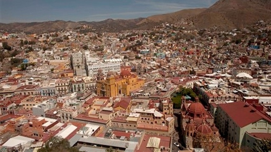 March 2, 2012: Guanajuato, Mexico is the cradle of Mexican independence, a city with underground passageways and narrow winding streets that resemble medieval Europe.