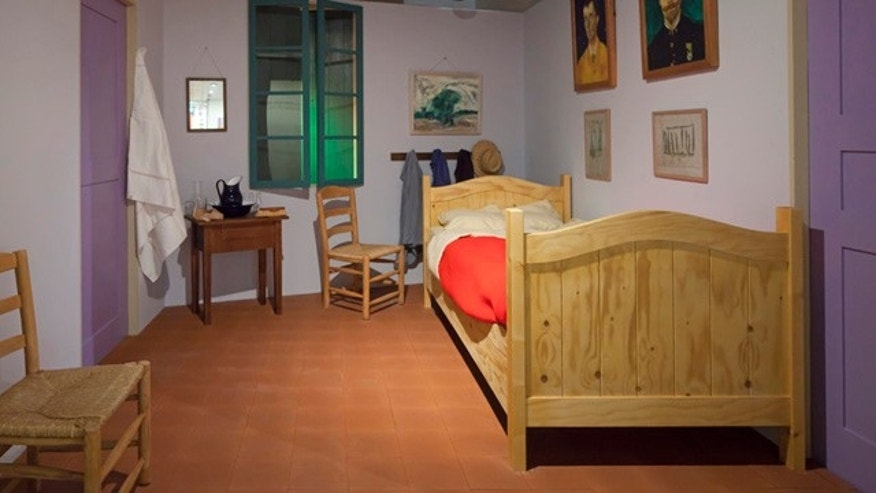 Based on descriptions in Van Gogh's letters and paintings, Amsterdam's Van Gogh Museum has recreated the master artist's living quarters.