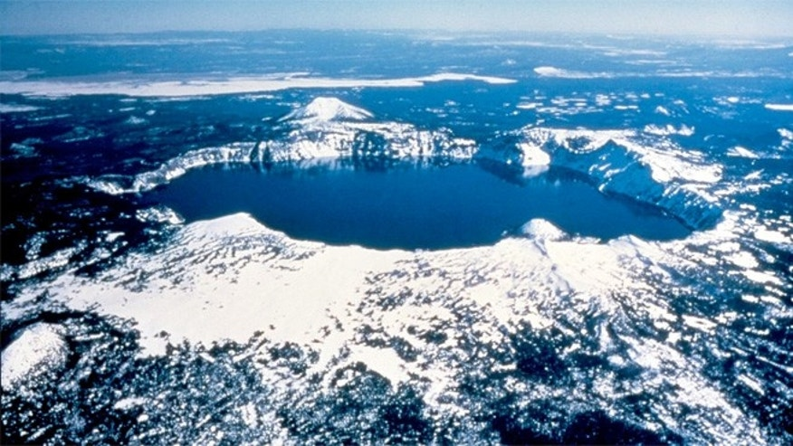 The Klamath tribe of Oregon believes that Crater Lake was the site of a battle between the Chief of the Above World and the Chief of the Below World.