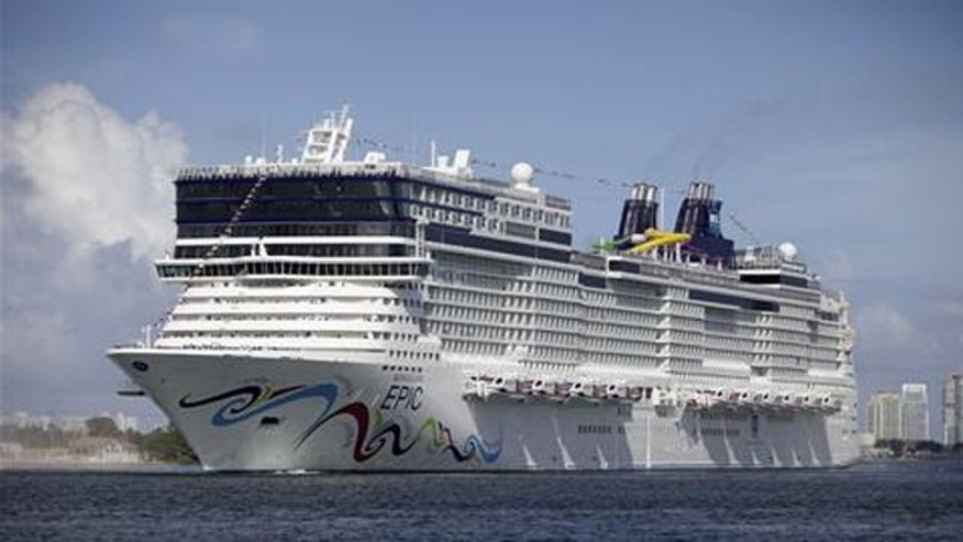 "The Norwegian Epic, one of the ships that will be featured in ""Love for Sail"", a new reality show on Lifetime."
