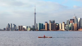 Toronto, the provincial capital of Ontario, is a chic and animated city.