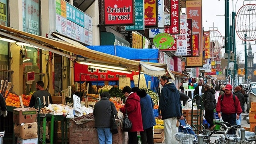Toronto's Chinatown at Spadina Avenue and Sullivan Road, is an exciting and vibrant place.