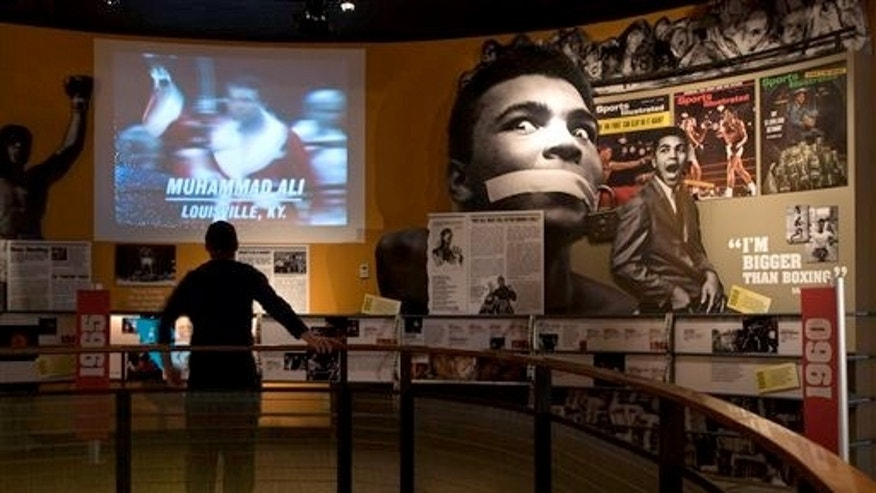 Jan. 11, 2012: The Muhammad Ali Center in Louisville, Ky. is one place visitors can see the three-time world heavyweight champion in his prime.