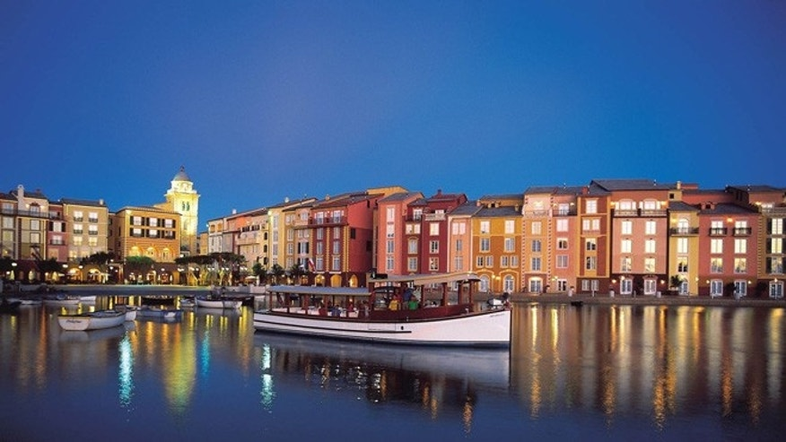 Consider staying at an onsite hotel like Loews Portofino Bay Hotel. Come before June 7 and save up to 30 percent when you stay three nights or longer.