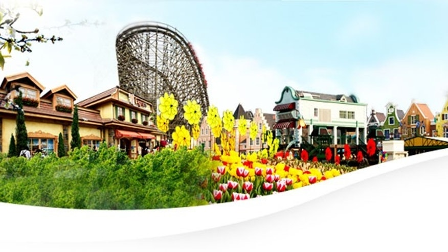 Just a few miles outside the major industrial city of Suwon sits South Korea's answer to Disneyland. Everland claims to be the world's fifth-largest theme park, attracting upward of 6.8 million visitors every year.