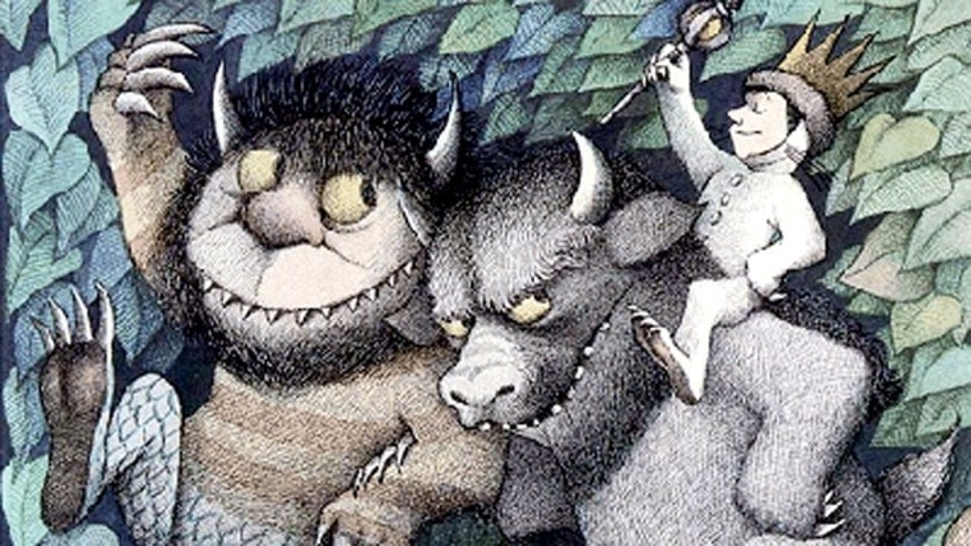 Cover of the book by Maurice Sendak, Where the Wild Things Are.