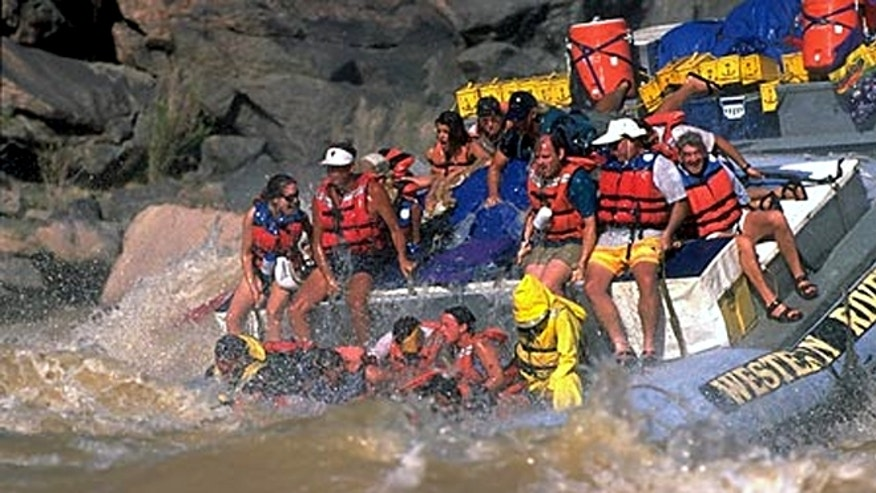 White water rafting in the Grand Canyon includes endless in scenic wonder, loaded with fun and adventure.
