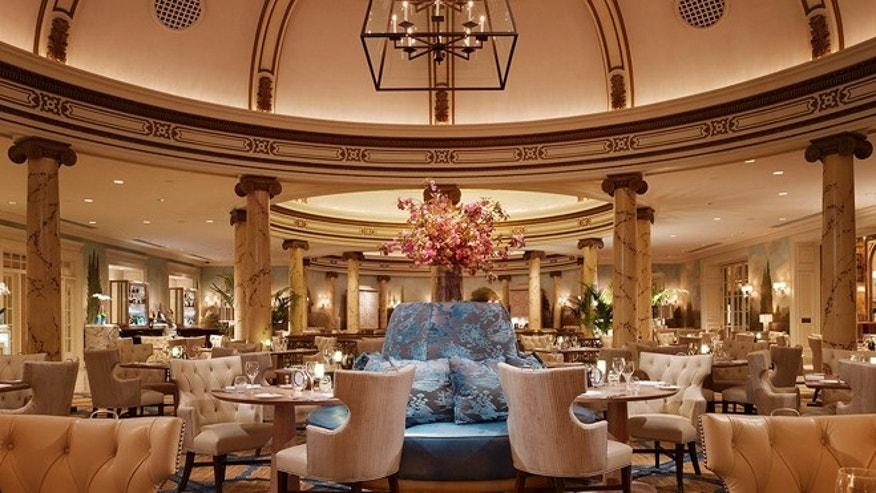 The Fairmont's Laurel Court restaurant.