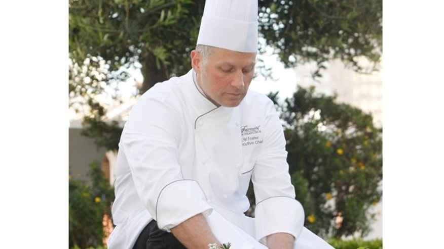 JW Foster, executive chef at The Fairmont San Francisco.