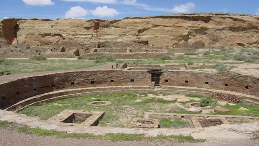The ruins of Chaco Canyon in New Mexico date back almost 1,200 years, when the site served as the center of culture and commerce for the ancient pueblo peoples.