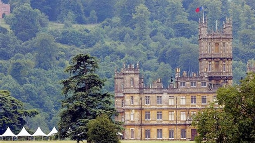 "Highclere Castle, the set of ""Downton Abbey,"" is open for visitors."