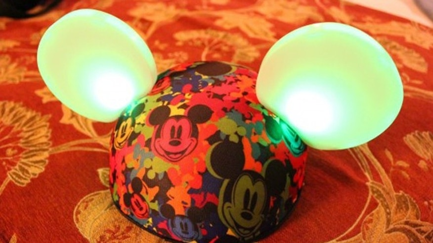 Disney released new glowing Mickey Mouse ears that keep time to the  music of its theme park shows.