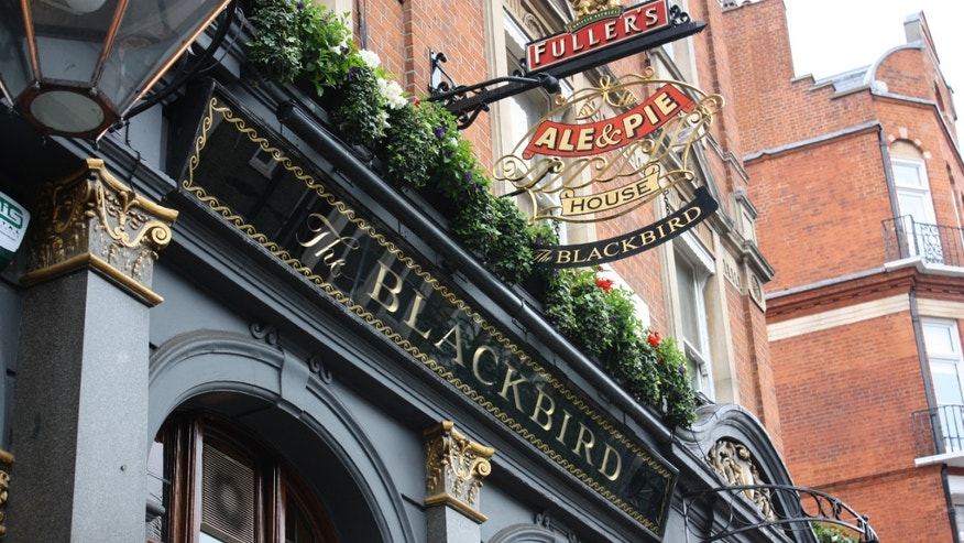 The Blackbird pub near Earl's Court in West London (Kacy Capobres)